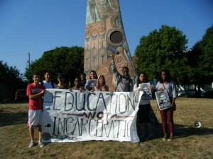 PAT 2013 education not incarceration